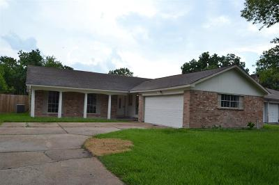 Houston TX Single Family Home For Sale: $184,900