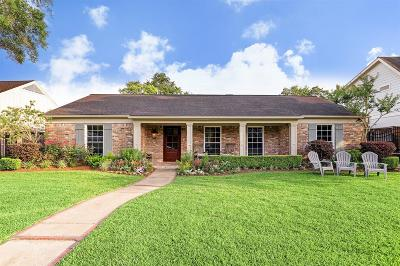 Houston Single Family Home For Sale: 6231 Chevy Chase Drive