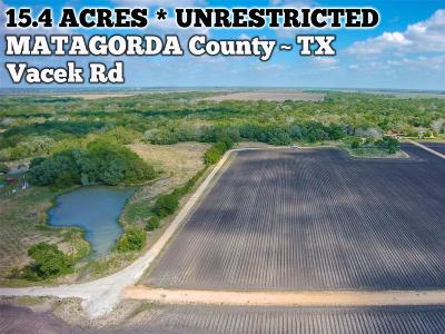 Palacios Residential Lots & Land For Sale: 843 Vacek Road