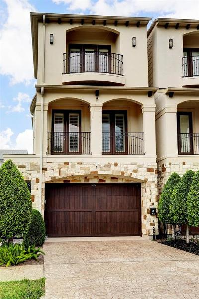 Houston TX Single Family Home For Sale: $749,900