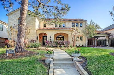 Houston Single Family Home For Sale: 3733 Blue Bonnet Boulevard