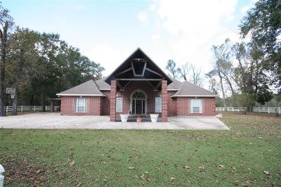 Crosby Single Family Home For Sale: 21025 Fm 2100 Road