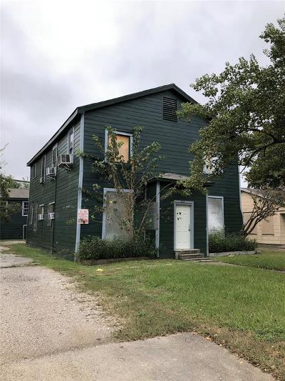 Galveston County, Harris County Multi Family Home For Sale: 1211 Wafer Street