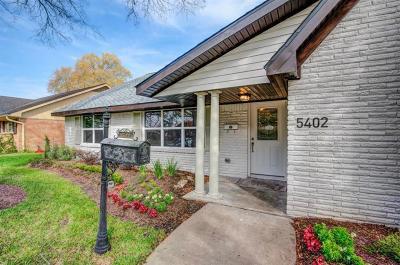 Houston Single Family Home For Sale: 5402 Rutherglenn Drive