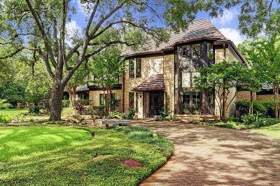 Houston Single Family Home For Sale: 10814 Oak Hollow Street
