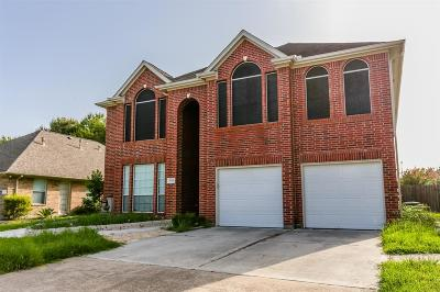 Humble Single Family Home For Sale: 19106 Atasca South Drive