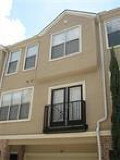Houston Condo/Townhouse For Sale: 12707 Boheme Drive #707
