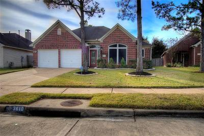 Pearland Single Family Home For Sale: 3610 Matilde Court