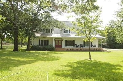Bellville Single Family Home For Sale: 609 Piney Creek