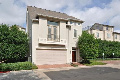 Houston Single Family Home For Sale: 2223 Hilshire Trail Drive