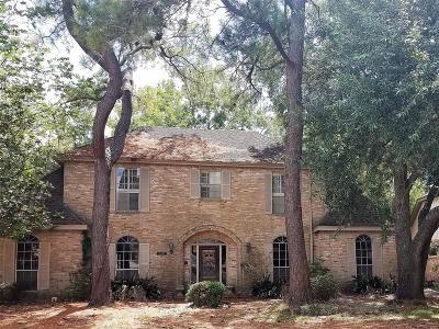 Houston Single Family Home For Sale: 15707 Walkwood Drive