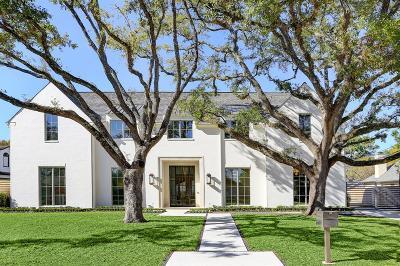 Hunters Creek Village Single Family Home For Sale: 1018 River Glynn Drive