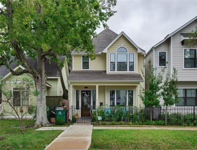 Houston Single Family Home For Sale: 825 W 20th Street #B