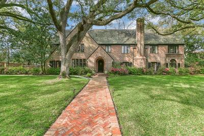 Houston Single Family Home For Sale: 1324 North Boulevard