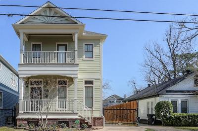 Houston Condo/Townhouse For Sale: 1524 Herkimer Street