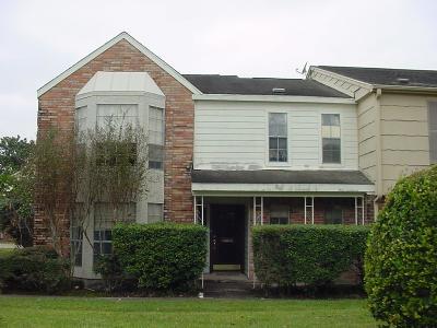 Houston TX Condo/Townhouse For Sale: $84,900