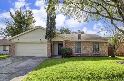 Galveston County, Harris County Single Family Home For Sale: 1338 Pennygent Lane