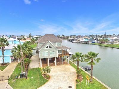 Galveston Single Family Home For Sale: 21730 Lampasas Drive