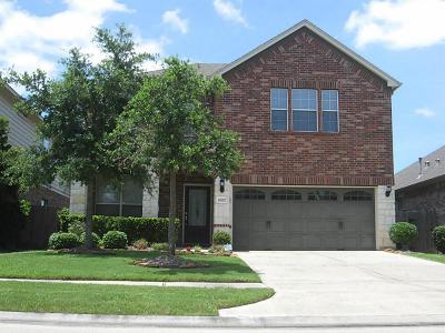 Cinco Ranch Single Family Home For Sale: 24522 Carlton Springs Lane