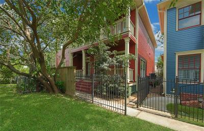 Houston Single Family Home For Sale: 1307 W 25th Street #A