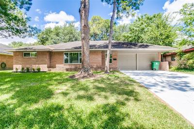 Houston Single Family Home For Sale: 11426 Mullins Drive