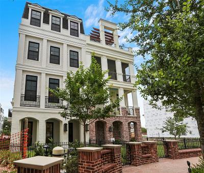 Houston Condo/Townhouse For Sale: 51 Crain Square Boulevard