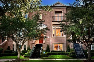 The Woodlands Condo/Townhouse For Sale: 38 History Row