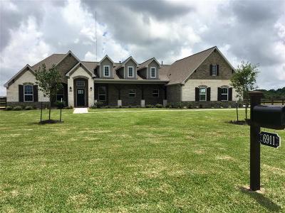 Alvin Single Family Home For Sale: 6911 Bayou Trail Drive