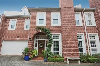 Houston Condo/Townhouse For Sale: 1512 Nantucket Drive #B