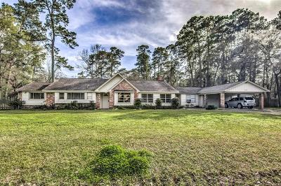 Kingwood Single Family Home For Sale: 1410 Mistletoe Lane