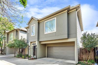 Houston Single Family Home For Sale: 4209 Center Street #B