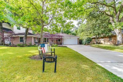 Spring Valley Village Single Family Home For Sale: 8413 Cedarbrake Drive