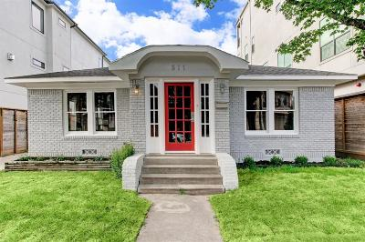 Houston Single Family Home For Sale: 511 W Polk Street