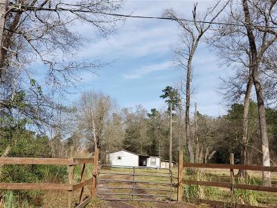 Conroe Farm & Ranch For Sale: 16873 Payne Rd Road
