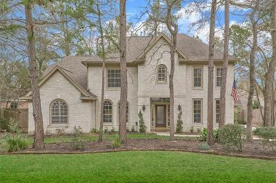 The Woodlands Single Family Home For Sale: 106 Green Gables