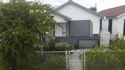 Single Family Home For Sale: 5117 Avenue L