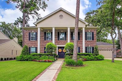 Memorial Single Family Home For Sale: 13511 Apple Tree Road