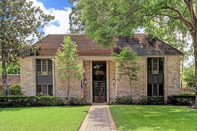 Bunker Hill Village Single Family Home For Sale: 11711 Cobblestone Drive