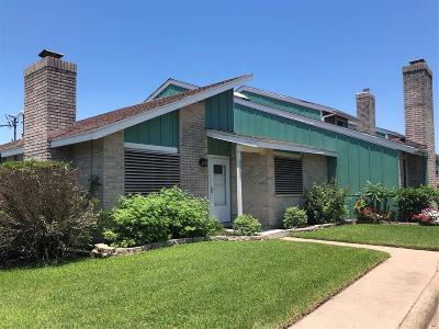 Galveston Condo/Townhouse For Sale: 3318 Antilles Drive