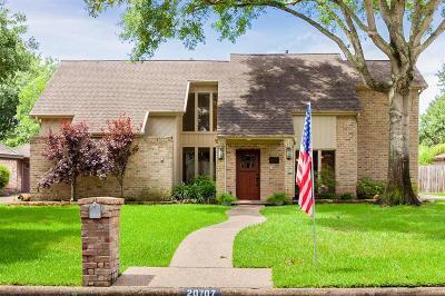 Katy Single Family Home For Sale: 20707 Laverton Drive