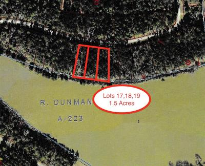 Humble Residential Lots & Land For Sale: Lts 17,18&19 Lakelane Drive