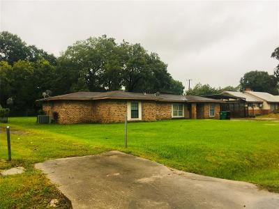 Houston TX Single Family Home For Sale: $174,000