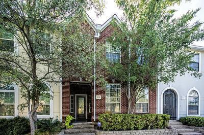 Houston Condo/Townhouse For Sale: 9419 Stonehouse Lane
