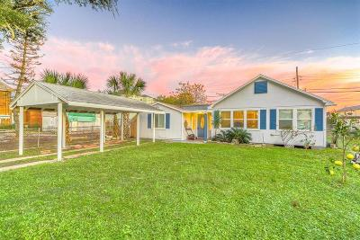 Galveston TX Single Family Home For Sale: $139,000