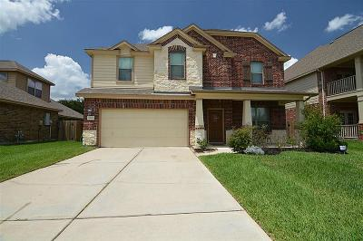 Single Family Home For Sale: 5614 Brookway Willow Drive