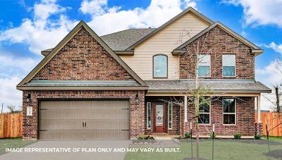 Rosenberg Single Family Home For Sale: 5819 Euclid Loop