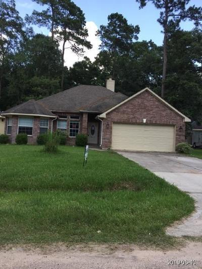 Conroe Single Family Home For Sale: 10388 Longleaf Drive