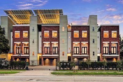 Houston Condo/Townhouse For Sale: 325 E 20th Street
