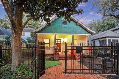 Houston Single Family Home For Sale: 1412 Rutland Street
