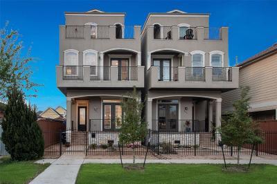 Houston Single Family Home For Sale: 823 W 21st Street